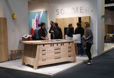 Küchenblock der Tischlerei Sommer aus Köln