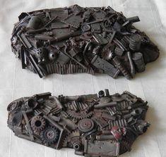 Ork mek raw materials. Junk pile t you and me.