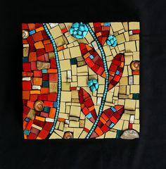 Julie McKee textured mosaic by Julie McKee, via Flickr
