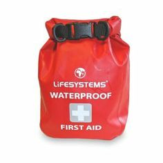 LifeSystems Waterproof First Aid Kit - Red