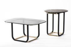 En versión alta o baja, las mesas auxiliares Duet fueron diseñadas por el catamarqueño Cristián Mohaded y presentadas en el último Salone del Mobile.