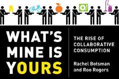 Tendência Comportamental: Consumo Compartilhado   Blog da Fah Maioli