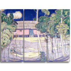 Design Art 'James Wilson Morrice - Landscape, Trinidad' Art Print