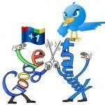 Batalla entre google y Facebook