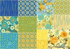 "Blue Bird 10"" Squares - Jennifer Brinley - Studio E — Missouri Star Quilt Co."
