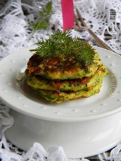 zucchini patties (recipe in Romanian)