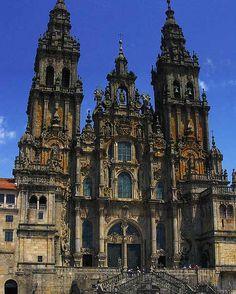 Catedral de Santiago de Compostela, La Coruña, Galícia - Spain