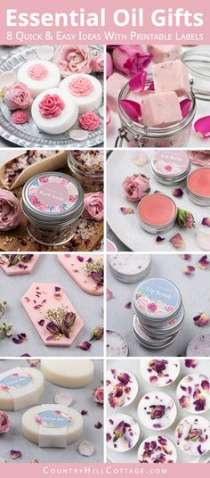 , Easy Essential Oil Gifts for Essential Oil Gift Basket + Printable Labels Learn . , Easy Essential Oil Gifts for Essential Oil Gift Basket + Printable Labels Learn how to make 8 easy essential oil gifts and create a beautiful essentia. Kylie Jenner, Lip Balm Ingredients, Diy Wax Melts, Diy Gifts Cheap, Handmade Gifts For Friends, Lip Balm Recipes, Homemade Soap Recipes, Homemade Gifts, Lotion Bars