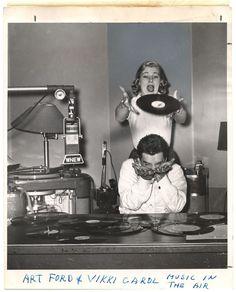 Weegee, Art Ford + Vikki Carol: Music in the Air, 1954