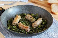 Broccoli e salsiccia