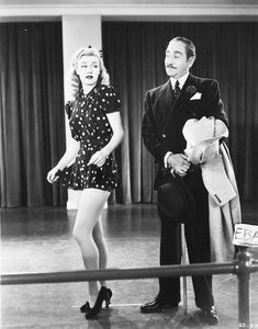 Stage Door (1937), Ginger Rogers. I don't normally go in for rompers, but that one is dang cute.