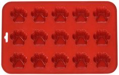 K9 Cakery Mini Paw Silicone Cake Pan, 9 by 5.5-Inch, 15-C...