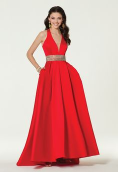 This ball gown dress