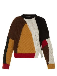 Isabel Marant Étoile's Gao sweater has a graphic yet home-spun feel. The…