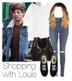 """""""Shopping with Louis"""" by style-with-one-direction ❤ liked on Polyvore featuring мода, Acne Studios, Topshop, Rachael Ruddick, Vans, OneDirection, 1d, louistomlinson и louis tomlinson one direction 1d"""