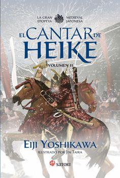 El Cantar de Heike. Volumen II. Eiji Yoshikawa. Ilustraciones de Jin Taira. Satori Ediciones