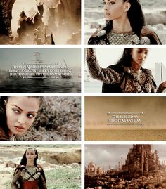 """Nymeria  was a warrior queen and a Princess of the Rhoynar. After the Rhoyne was conquered by Valyria, Nymeria led the Rhoynar to Dorne, where she took Lord Mors Martell as her husband. House Nymeros Martell has ruled Dorne since."" #asoiaf"