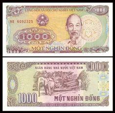 South Vietnam Viet Nam 20 Dong ND banknote P-16 A-UNC