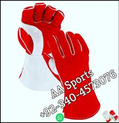 pure Cow welding gloves   +92 340 4573076 whatsapp & personal Number  Email=aasports09@gmail.com  Application : 1.Handling of angle grinder, MIG, MAG or with tube welding operations. 2.Applications where a very robust glove is required. 3.Handling of hot objects up to 100 °C. 4.Protection against small drops of molten metal.  Sizes:14 inches & 16 inches. Packing:1 Dozen (1 Bag containing 12 pairs). 6 Dozen in 1 Carton. Welding Gloves, Safety Gloves, Angle Grinder, Work Gloves, Facebook Sign Up, Cow, Tube, Objects, Packing