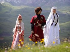 COSTUME PLANET: North Caucasus. Cherkessian and Adyghe Bride