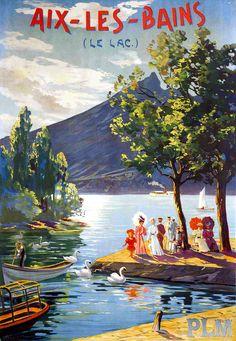 PLM - Aix-les-Bains, le lac -