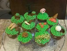 Gras cupcakes