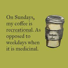 #sunday #Coffee Recreational