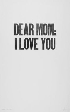 Love you, Ama.