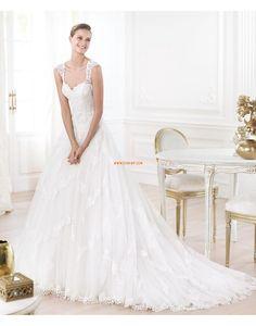 Bandjes Tule Natuurlijk Bruidsmode 2014
