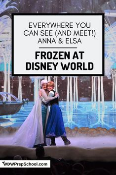 Anna and Elsa are a HUGE draw at Disney World and a big part of why people plan their trips. Here's info on where to find all things Frozen at Disney World. Disney World Princess, Disney World Characters, Magic Kingdom Tips, Disney Magic Kingdom, Walt Disney World Vacations, Disney Trips, Disney Travel, Disney World Transportation, Autograph Books