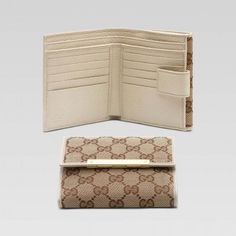 4d7e747f87cf Gucci :: Women Wallets :: 112664 9773 flap french wallet with gucci  trademark engraved m