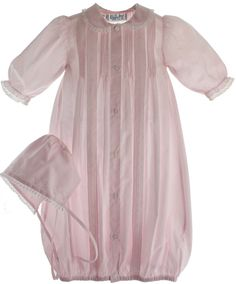 Newborn Girls Vintage Pink Long Sleeve Take Home Outfit Feltman Brothers