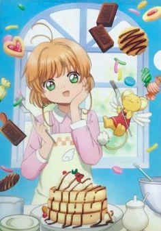 Sakura and Kero Manga Anime, Otaku, Sakura Card Captor, Sakura Kinomoto, Arte Sailor Moon, Anime City, Clear Card, Magic Cards, Image Manga