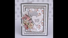 Handmade card using Felicity Jane's Reagan & Wild Orchid Crafts!