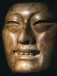 Olmec (jade mask)