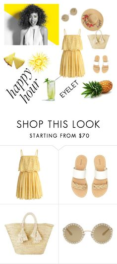 """""""Summer"""" by anela-aljic ❤ liked on Polyvore featuring Chicwish, Paul Mitchell, Soludos, Giselle and Dolce&Gabbana"""