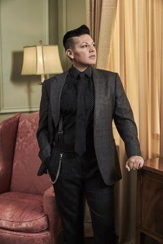Sara Ramirez Dapper in Black