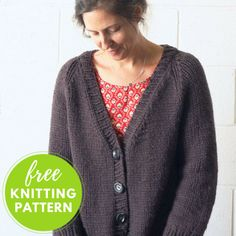 Lulea Cardigan Free Knitting Pattern
