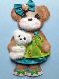 Sisters Doll Baby Boutique Girl Tear Bear Scrapbook Paper ELITE4U 3PAPERWISHES | eBay