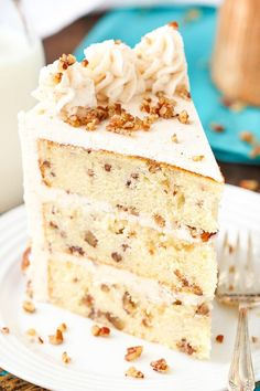 This post is sponsored by Challenge Dairy, but all opinions are my own. This Browned Butter Pecan Layer Cake has three layers of buttery vanilla cake filled with toasted pecans that are covered with the most delicious browned butter frosting! It's the perfect cake for the holidays! Can you believe that it's November already? The …