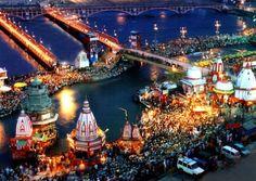 Devine Haridwar- at night..