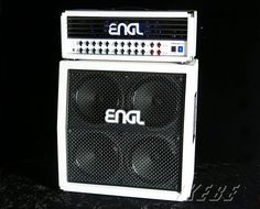 """ENGL INVADER 150 + PRO CABINET 4x12 V30 SLANTED White Tolex Special Stack Set """"IKEBE 40th Anniversary"""""""