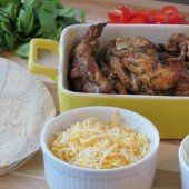 Southwest Chicken and Bacon Wrap - A Parent and Kid Favorite!