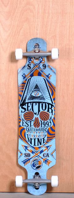 The Sector 9 Seeker Longboard Complete is designed for Freeride, Sliding and…