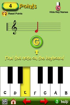 music for little mozarts app to help with piano lessons #piano #app