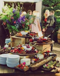 Ideas Party Food Table Display Buffet For 2020 Appetizer Table Display, Appetizer Buffet, Appetizers Table, Appetizers For Party, Appetizer Recipes, Party Recipes, Wedding Appetizer Table, Cheese Recipes, Holiday Recipes