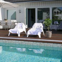 Poolside @lifestylebyl Beach House Beach Towel