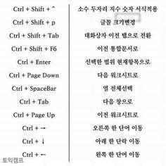 사무직이라면 한번쯤 한다는 엑셀 - ◎ …… 알싸 사진방 - 아이러브사커 Learn Korea, Information Design, Microsoft Excel, Software, Photoshop, Study, Facts, Education, Learning