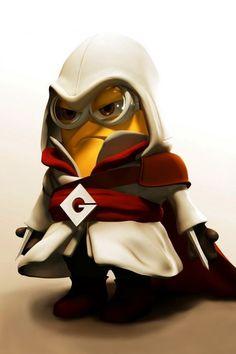 Assassins creed minion lol!