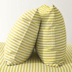 Striped sheet set from West Elm